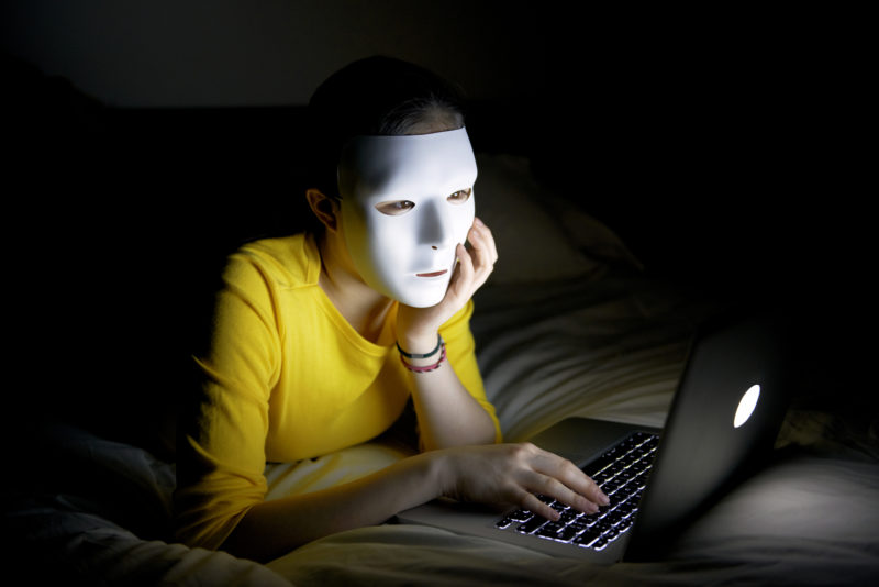 Czy internet zapewnia pelną anonimowość?